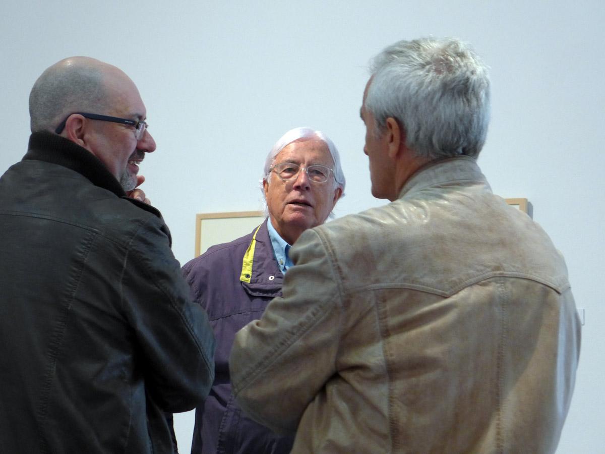 Perez Siquier en el centro con directivo de UFCA en el CAMA de Almeria 2